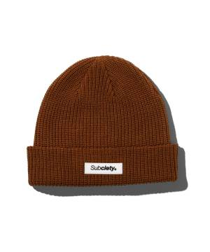 Subciety LOW WATCH CAP - BROWN