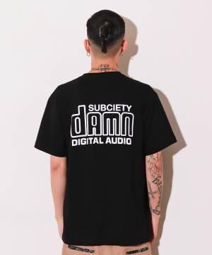 【予約商品】Subciety AUDIO S/S - BLACK