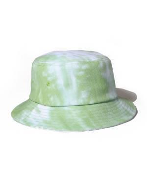 【予約商品】Subciety TIE-DYE BUCKET HAT - GREEN