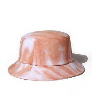 【予約商品】Subciety TIE-DYE BUCKET HAT - ORANGE