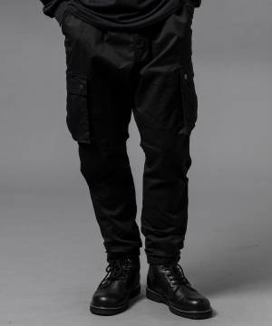 【予約商品】VIRGO 2WAY JOGGER CARGO - BLACK