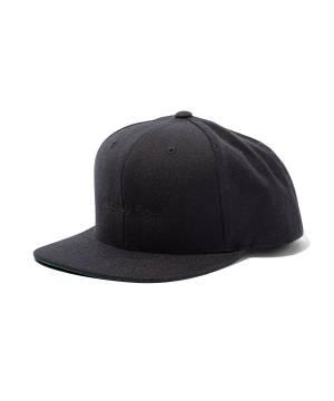 【予約商品】Subciety SNAP BACK CAP-crew- BLACK/BLACK