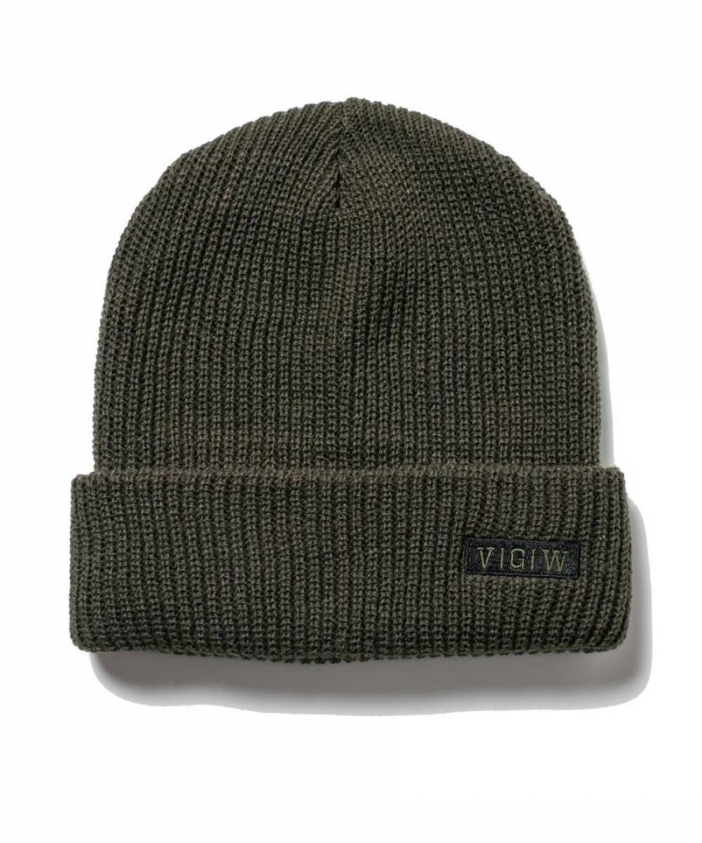【予約商品】VIRGO V.G.W BOX KNIT CAP - KHAKI