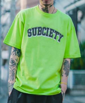 【予約商品】Subciety OLD SCHOOL S/S- LIME