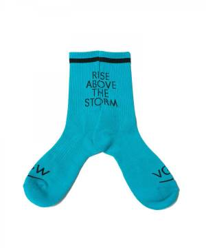 VIRGO RISE SOCKS - EMERALD