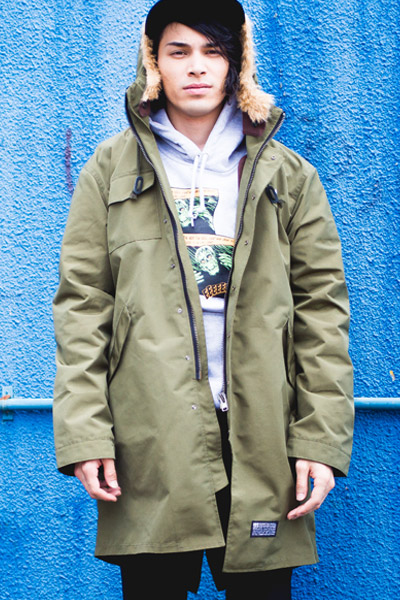 SABBAT13 MATURE MODS COAT (オリーブ) OLIVE