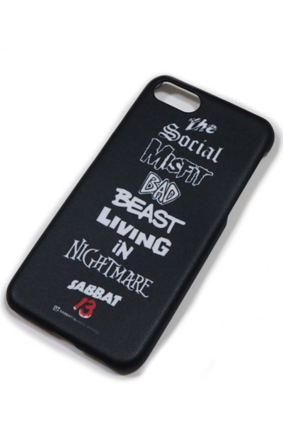 SABBAT13 BEAST iPhone CASE (ブラック) BLACK