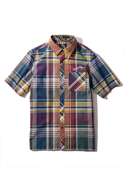Subciety CHECK SHIRT NAVY