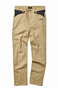 Subciety TAPERED WORK PANTS-PAISLEY- BEIGE