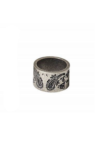 Subciety PAISLEY RING ANTIQUE SILVER