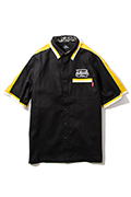 Subciety (サブサエティ) SWITCH WORK SHIRT BLACK