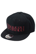 【予約商品】Zephyren(ゼファレン)B.B CAP -VISIONARY- BLACK / BURGUNDY