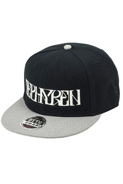 【予約商品】Zephyren(ゼファレン) B.B.CAP - VISIONARY - BLACK / GRAY