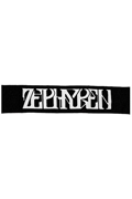【予約商品】Zephyren(ゼファレン)MUFLLER TOWEL -VISIONARY- BLACK