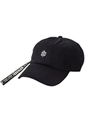 【予約商品】Zephyren(ゼファレン)LONG STRAP LO CAP -ENGRAVE - BLACK