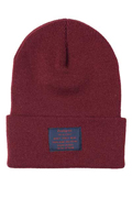 【予約商品】Zephyren(ゼファレン)LONG BEANIE -You Are Here BURGUNDY