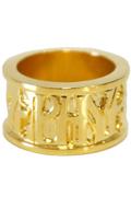 【予約商品】Zephyren(ゼファレン)METAL RING -VISIONARY- GOLD