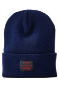 【予約商品】Zephyren(ゼファレン)LONG BEANIE -You Are Here NAVY