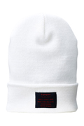 【予約商品】Zephyren(ゼファレン)LONG BEANIE -You Are Here WHITE