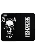 【予約商品】Zephyren(ゼファレン)FLIP iPhone CASE -SkullHead- iPHONE X