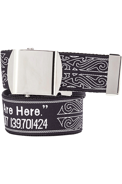 Zephyren LONG TAPE G.I BELT BLACK