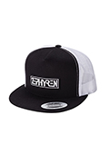 【予約商品】Zephyren(ゼファレン)TWILL MESH CAP -PROVE- BLACK / WHITE