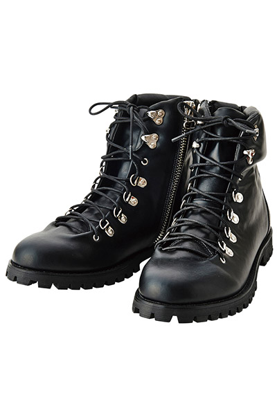 Zephyren (ゼファレン) MOUNTAIN BOOTS -RIDGE- BLACK