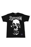 【予約商品】Zephyren(ゼファレン)S/S TEE - SKULL HEAD - BLACK