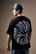 Zephyren(ゼファレン) BIG S/S TEE -VISIONARY/zebra eye- BLACK