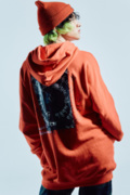 Zephyren(ゼファレン) DOLMAN BIG PARKA RED / Reverie