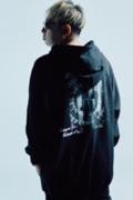 Zephyren(ゼファレン) DOLMAN BIG PARKA BLACK / Reverie