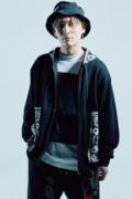【予約商品】Zephyren(ゼファレン) PAISLEY PARKA BLACK