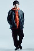 【予約商品】Zephyren(ゼファレン) JERSEY PANTS BLACK / RED